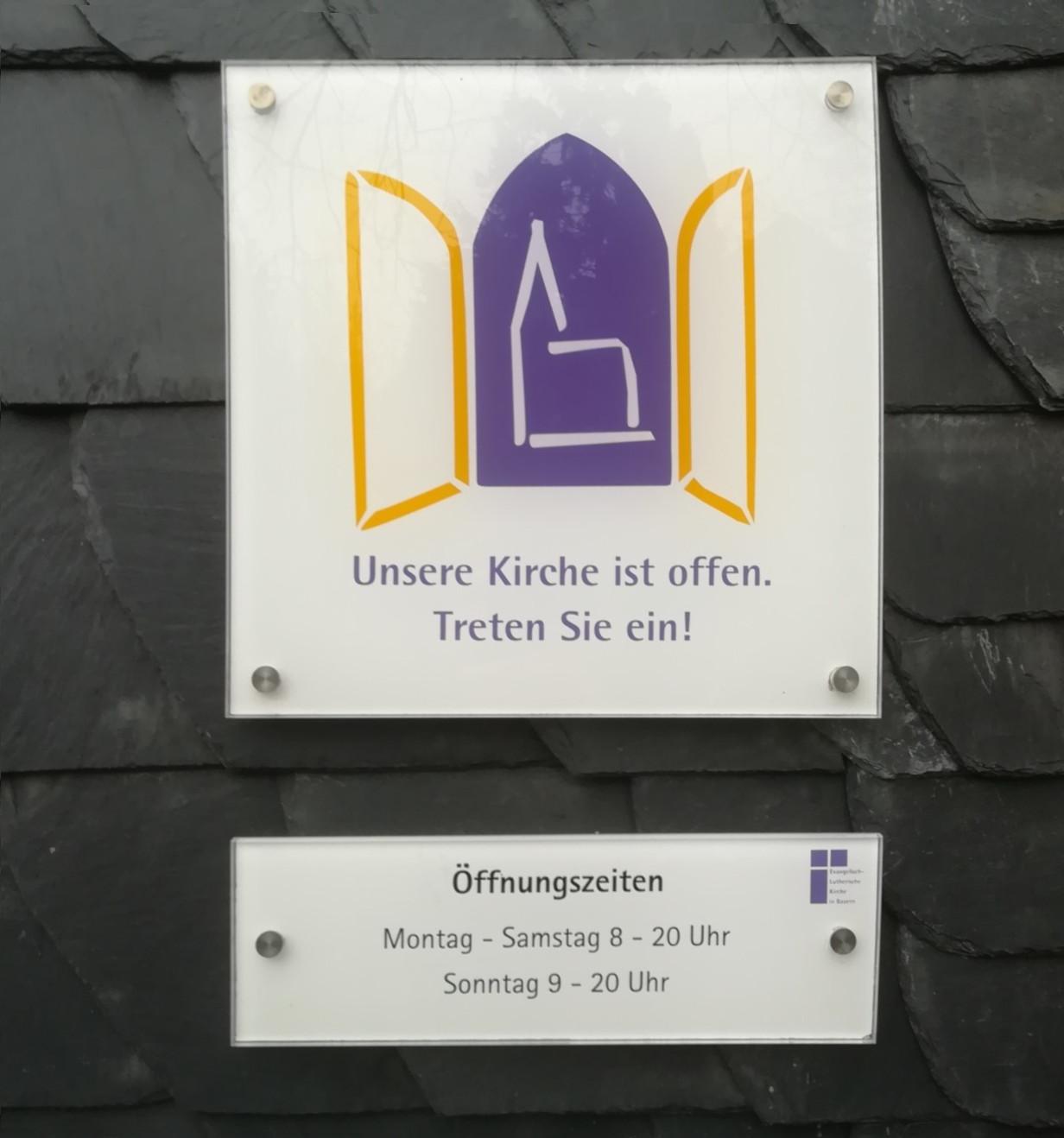 Kirche Öffnungszeiten